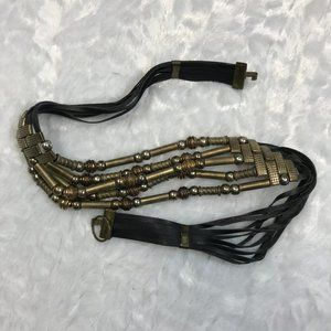 Vintage BoHo Statement Multi Media chic Belt